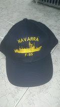 GORRA FRAGATA NAVARRA (F-85)