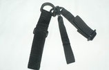 SINGLE POINT SLING COLOR NEGRO (para chaleco molle)