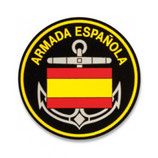 PARCHE ARMADA ESPAÑOLA PVC