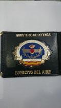 CARTERA IDENTIFICACION EJERCICO AIRE LETRAS Y BANDERA