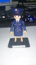 PLAYMOBIL CUSTOMIZADO Nº 11 MUJER POLICIA NACIONAL GALA