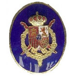 DISTINTIVO GUARDIA REAL AZUL JUAN CARLOS I