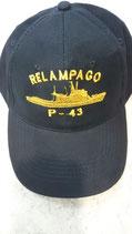 GORRA PATRULLERO RELAMPAGO P-43