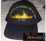 GORRA FRAGATA ALVARO DE BAZAN (F-101)