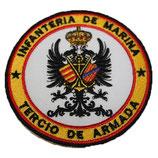 PARCHE BORDADO INFANTERIA DE MARINA TERCIO ARMADA COLOR
