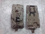 PORTACARGADOR G36 ARIDO ESPAÑOL MARCA PIELCU (dos cargadores en cada bolsillo)