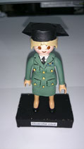 PLAYMOBIL CUSTOMIZADO Nº 7 GUARDIA CIVIL FEMENINO  TRICORNIO