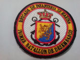 PARCHE PRIMER BATALLÓN DE DESEMBARCO (COLOR)