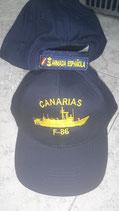 GORRA FRAGATA CANARIAS (F-86)