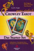 Das Starter-Set  Tarot-Set: Crowley© - ganz einfach