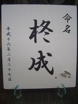 アクリル製命名書スタンド(板+スタンドセット)