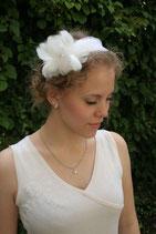 Federblüten auf Haarreif
