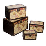 SET 4 BAULI ECOPELLE GLOBE