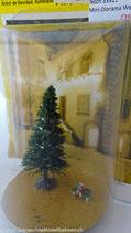 Noch 33911, Mini-Diorama Grüne Weihnacht beleuchtet