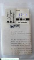 NMW 8712, Gleisabstandslehre