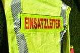 """Rückenschild """"EINSATZLEITER"""""""