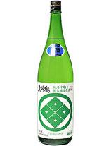 真野鶴 緑紋 純米吟醸中取り 無ろ過生原酒