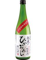 越乃八豊 越後のひやおろし 純米酒 720ml