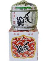 〆張鶴 菰樽(月・本醸造酒)1.8L