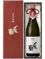 〆張鶴 純米大吟醸 RED LABEL(レッドラベル)