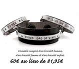 Bracelets homme + femme + enfant