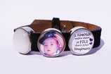 Bracelet + 1 Slider photo + 1 Slider texte + 1 Slider couleur
