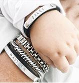 Ensemble bracelet à graver femme+enfant