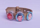Bracelet + 1 Slider photo + 2 Sliders texte + 1 Slider couleur