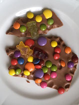 Vollmilch-Schokolade mit Smarties
