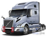 Volvo VNL 2018+ Bumper Center Chrome Trim 82758380, 82758382