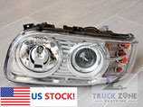 Peterbilt 388/389 Headlamp with LED Stripe