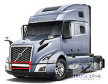 Volvo VNL 2018+ Bumper Center Chrome Trim 82750038