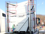 Fairing Extension with Brackets Set Volvo VNL 670, 730, 780