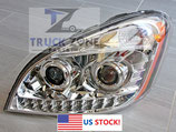 Freightliner Cascadia Headlamp with LED Stripe