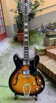 Hagstrom Viking Deluxe 12 Strings Flametone