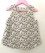 Kinderkleid aus Wollwalk, Punkte