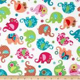 Michael Miller Elefanten bunt