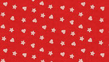 Makower Sterne und Herzen rot