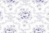 Westfalenstoff Rosen blau