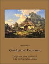 Hartmut Bock: Obrigkeit und Untertanen