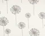 Premier Prints Pusteblume grau/weiß groß