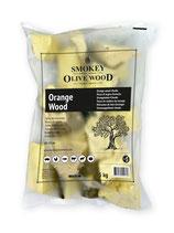 Smokey Olive Wood - Orangenholz Chunks Nº5