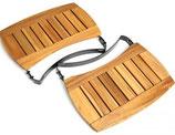 Seitentische aus Akazienholz