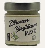 Vegane Zitronen-Basilikum Mayo