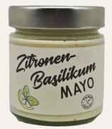 Zitronen-Basilikum Mayo