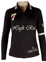"Polo Shirt ""High Ride"" Mink Horse"