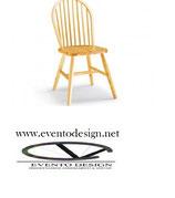 Sedia in legno pino - WINDOR S/146