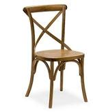 Sedia 364 Sedia vintage struttura in legno con la con seduta imbottita o massello