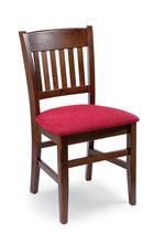 Sedia in legno con seduta legno pino - VERONICA PINO S/155 seduta imbottita