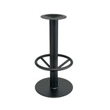 Base per sgabello in ghisa nera • Ø40cm • h.74cm • SG109
